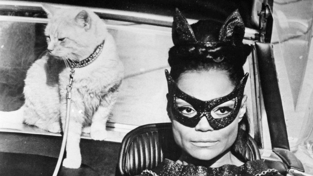 Eartha Kitt as Catwoman in 'Batman' TV series